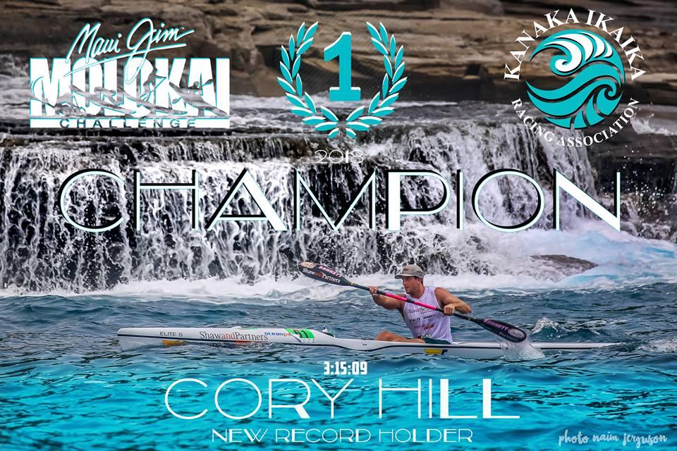 Cory Hill wins legendary Molokai Challenge   Paddle Australia